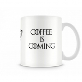Caneca Artgeek Game Of Thrones Coffee Is Coming - Mkp000247002843