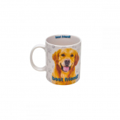 Caneca de Porcelana Golden Retriever Rojemac - Mkp000386000693