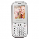 Celular Multilaser Up 2 Chips Com Câmera Branco/rosa Bluetooth Mp3 Wap - P3293 Mkp000278000398