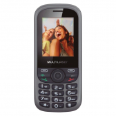 Celular Multilaser Up 2 Chips Com Camera Preto/cinza Bluetooth Mp3 Wap Mkp000066000293