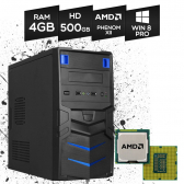 Computador Br One Desktop Amd Phenom, 4Gb, Hd 500Gb, Dvd-Rw, Windows 8 Mkp000245000030