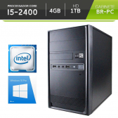 Computador Br-Pc Desktop Intel Core I5, 4Gb, Hd 1Tb, Dvd-Rw, Windows 10 Pro Mkp000245000007