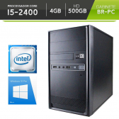 Computador Br-Pc Desktop Intel Core I5, 4Gb, Hd 500Gb, Dvd-Rw, Windows 8 Pro Mkp000245000008