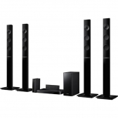 Home Theater Blu-Ray 3D Samsung Ht-F5555Wk Bluetooth Usb Hdmi Funcao Karaoke Mkp000335000301