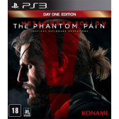 Jogo Metal Gear Solid 5 The Phantom Pain - Ps3 Mkp000315002694