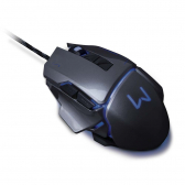 Mouse Gamer 3200 Dpi Grafite Usb Warrior Mo262 - Warrior Mkp000278002783