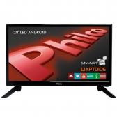 Tv 28'' Led Philco Ph28N91Dsgwa - Hd, Smart Tv,wi-Fi, Ginga, Funcao Midiacast,entradas Hdmi 2 E Usb - Mkp000315001859