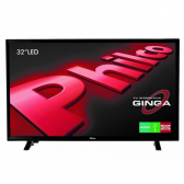 Tv 32'' Led Ph32E31Dg Hd Ginga Entradas Hdmi 2 E Usb 1 Preta - Philco