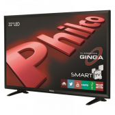 Tv 32'' Led Philco Ph32E20Dsgw Hd Smat Tv Wi-Fi Funa§A£O Midiacast Ginga Entradas Hdmi 2 E Usb 2