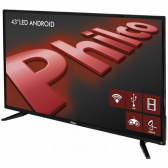Tv 43'' Led Philco Ph43N91Dsgwa Android, Full Hd, Wi-Fi, Funcao Midiacast , Som Surround, Entradas Hdmi 2 E Usb 2 - Mkp000315001897