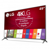 Tv 49'' Led Lg Uj6565 Ultra Hd 4K Prata Ultra Slim Smart Tv Wi-Fi Webos 3.5 Quick Access Magic Mobile Connection Entradas Hdmi 4 E Usb 2 - Mkp000315002513