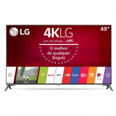 Tv 49'' Led Lg Uj7500 Ultra Hd 4K Ultra Slim Smart Tv Wi-Fi Magic Mobile Connection Controle Smart Magic